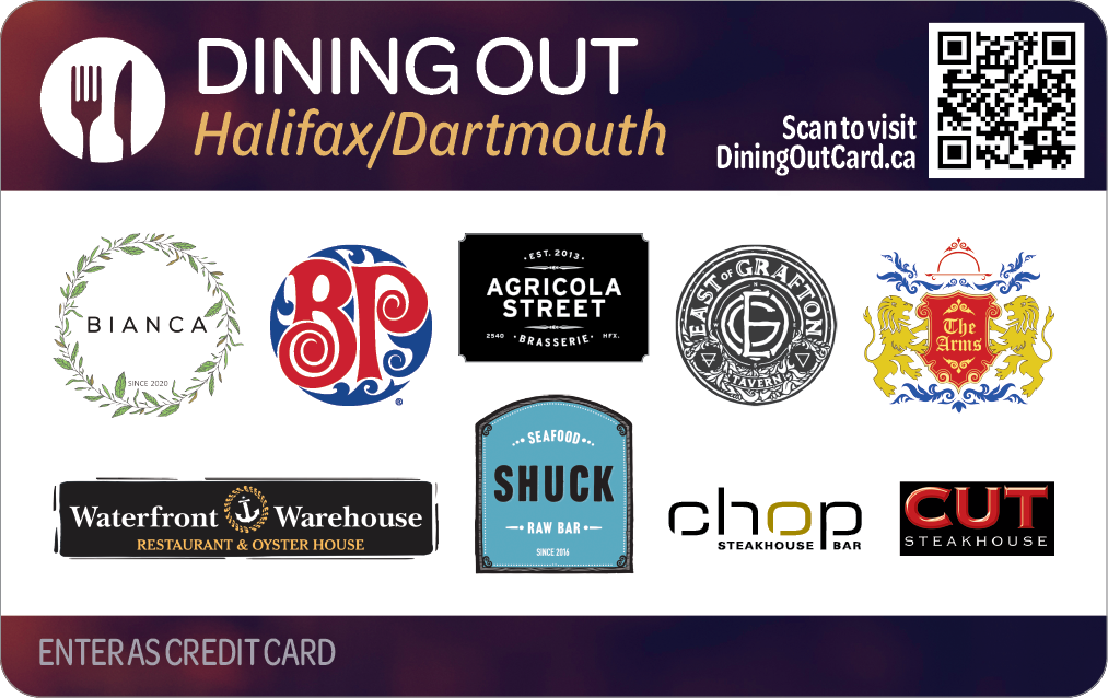 Dining Out Halifax Dartmouth