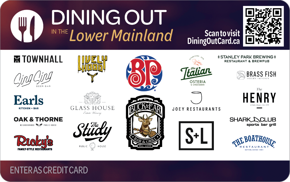 Dining Out in the Lower Mainland